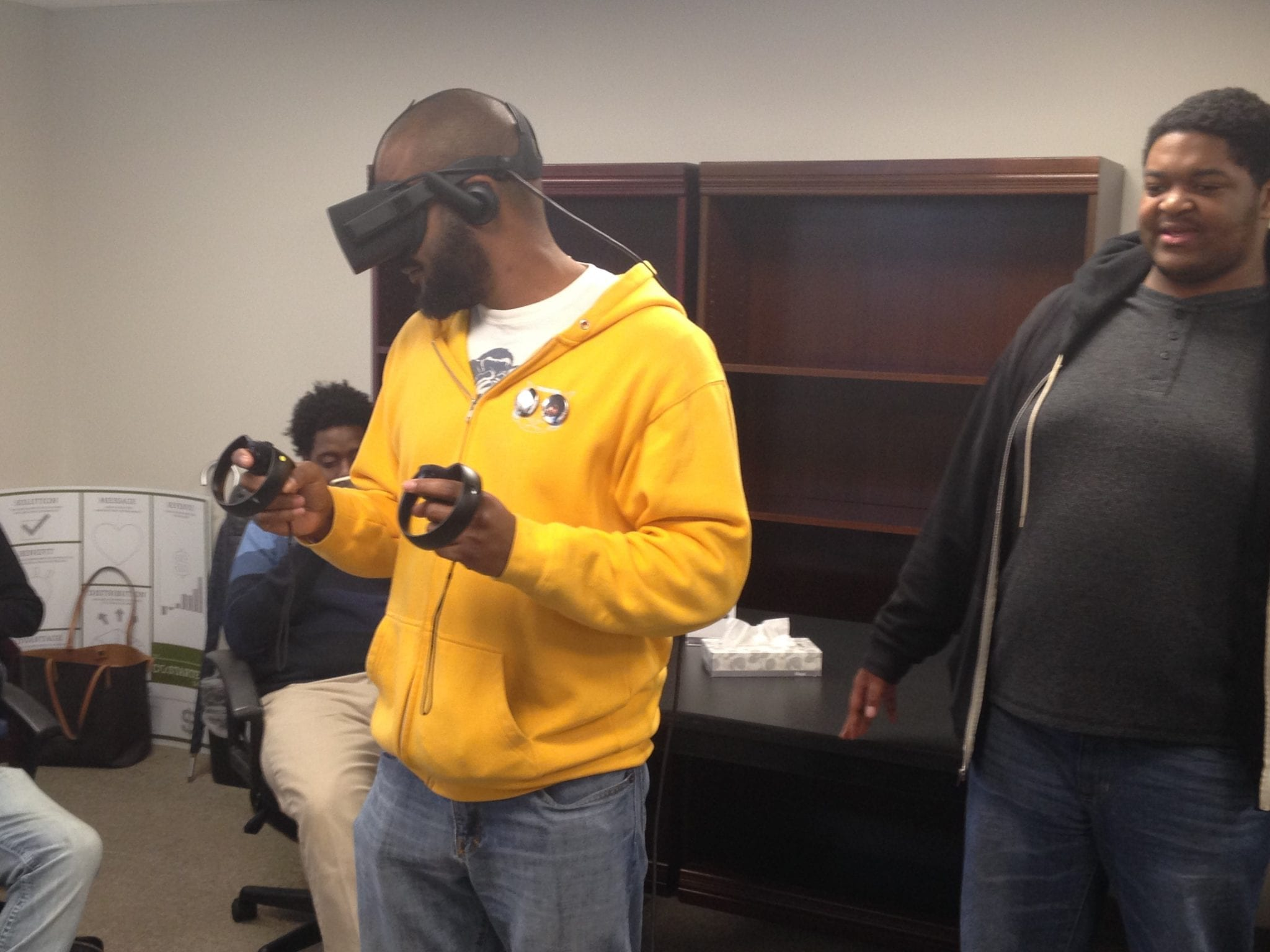 Virtual Reality Showcase Stop in At Innovate Mississippi
