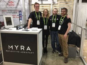 Mississippi-Based Myra Mirrors On Display at CES 2018