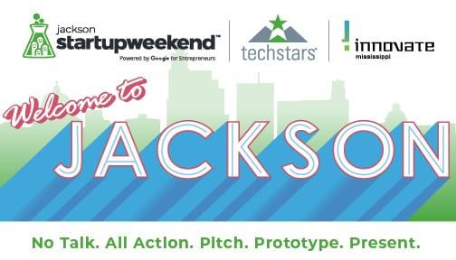 Startup Weekend Hero Image - Welcome to Jackson