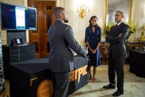 Partpic Founders at White House with President Obama