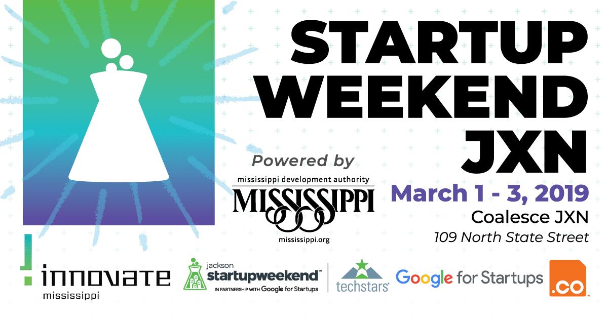 Startup Weekend JXN - MDA - Innovate Mississippi