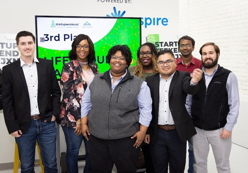 LifeVault - third place - Startup Weekend Jackson 2019 - Innovate Mississippi