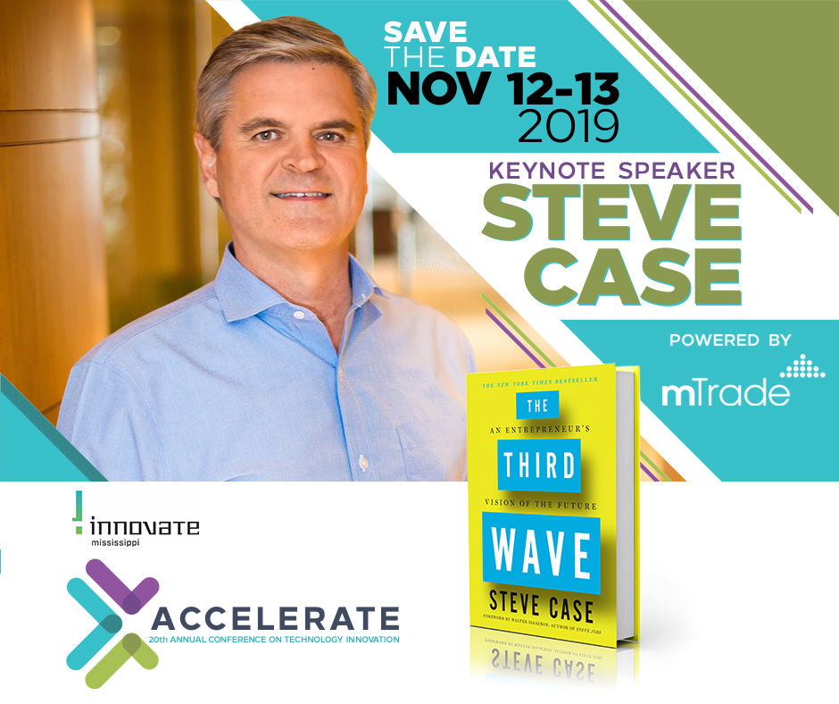 Accelerate - Save the Date - Innovate Mississippi