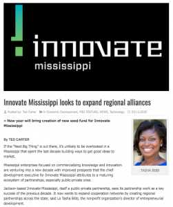 Innovate Mississippi in Mississippi Business Journal