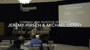 Jeremy Hirsch and Michael Denny – Investor Chat – Company & Investor Spotlight