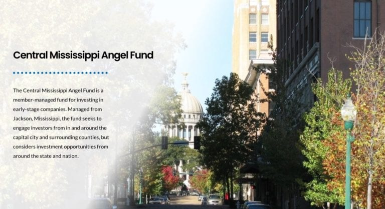 Central Mississippi Angel Fund to Invest in High-Growth Startups