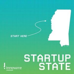 Startup State logo - Innovate Mississippi Podcast