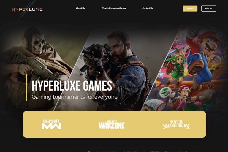 Hyperluxe Gaming Delivers Tournament eSports Virtually